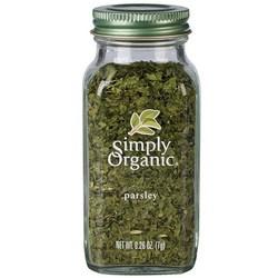 Simply Organic, 파슬리
